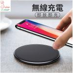 Wireless Charger Charging Pad 3.0 For iPhone X 8 Samsung Galaxy S8/iphone8 智能快充3.0 鋁合金無線充電器